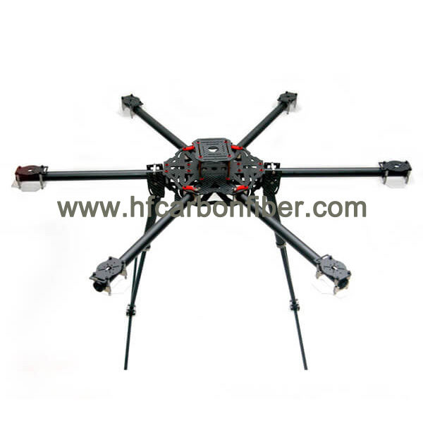 Easy to assemble, easy to dismantle:The structure of carbon fiber multi-rotor uav is simple, and it is connected by aluminum column and bolt, which makes it extremely convenient to arrange during the installation of components.It can be assembled at any time and anywhere, easy to carry;It's very convenient to use; Safety: the carbon fiber multi-rotor uav frame can guarantee high safety coefficient due to its power dispersing to multiple wings.The balance of force can be achieved in flight, easy to control, automatic hovering, so that it can fly according to the desired path, avoiding sudden descent and causing injury. Strong strength: the compressive strength of carbon fiber is above 3500MP, and it has high strength characteristics. The carbon fiber uav made of carbon fiber has strong resilience and strong anti-pressure ability. Good stability;The multi-rotor carbon fiber uav with carbon fiber has the effect of damping and stabilization, which can be used to offset the shaking or vibration of the fuselage